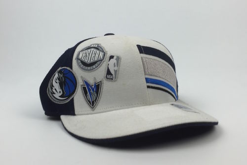 Dallas Mavericks NBA Adidas Fitted Patches Cap