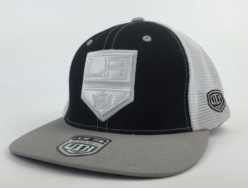 Los Angeles Kings Tonal Old Time Hockey Flexfit