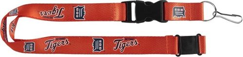 Detroit Tigers Lanyard (orange)