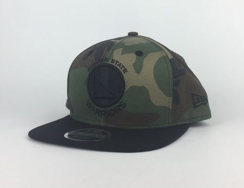 Golden State Warriors Camo New Era 9Fifty