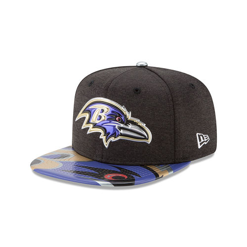 Baltimore Ravens Draft NFL On Stage 2017 New Era 9Fifty