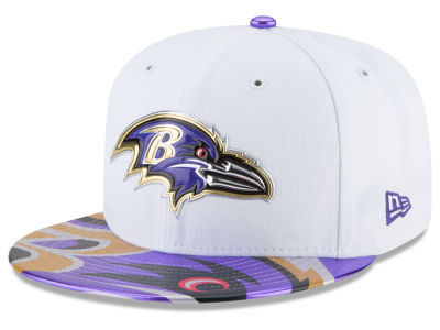 Baltimore Ravens Draft NFL On Stage 2017 New Era 59Fifty