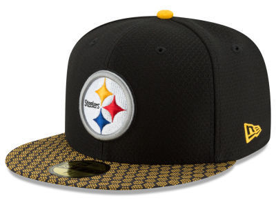 Pittsburgh Steelers NFL Sideline 2017 New Era 59Fifty