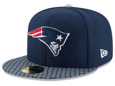 New England Patriots NFL Sideline 2017 New Era 59Fifty