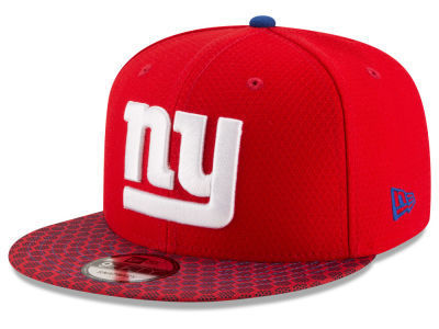New York Giants NFL Sideline 2017 New Era 9Fifty