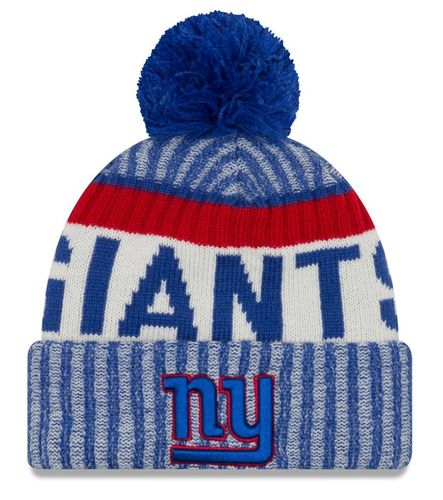 New York Giants NFL On Field 2017 New Era Knit
