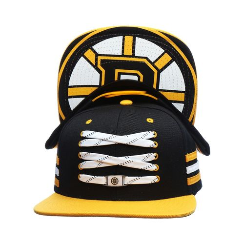 Boston Bruins Lacer Locker Snapback