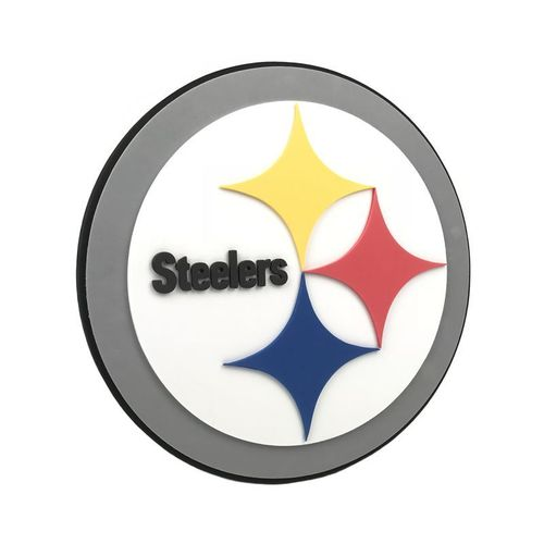 Pittsburgh Steelers 3D Foam Wall Sign