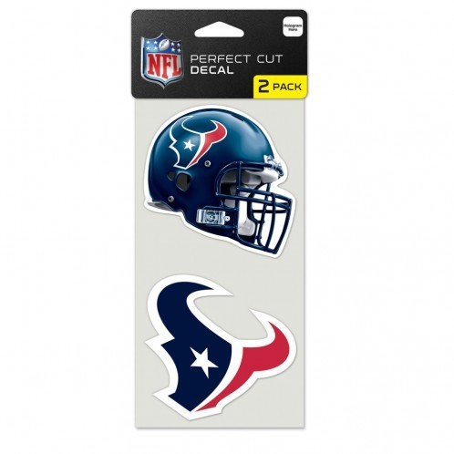 Houston Texans Cut Decal 2er Pack