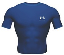 Under Armour HeatGear Kurzarm Shirt