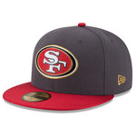 San Francisco 49ers Gold New Era 59Fifty