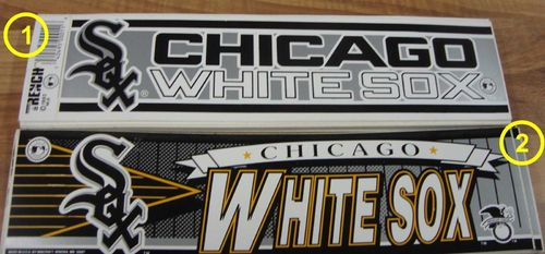 Chicago White Sox Aufkleber