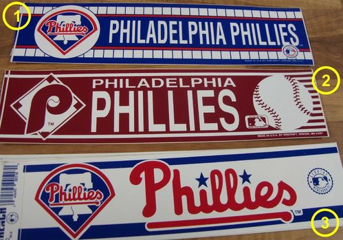 Philadelphis Phillies Aufkleber