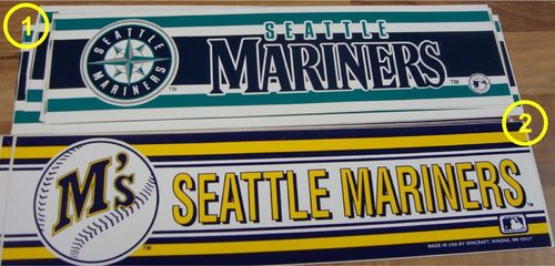 Seattle Mariners Aufkleber