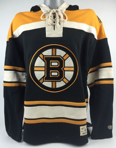 Boston Bruins NHL Old Time Hockey Hoody