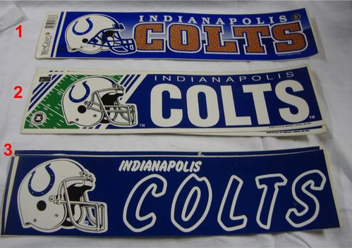 Indianapolis Colts Aufkleber