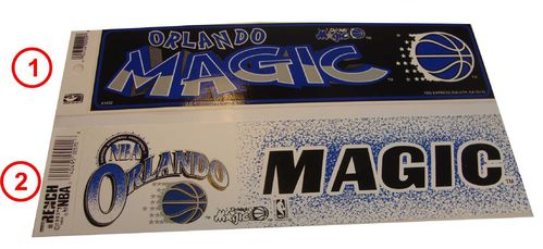 Orlando Magic Aufkleber