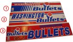 Washington Bullets Aufkleber