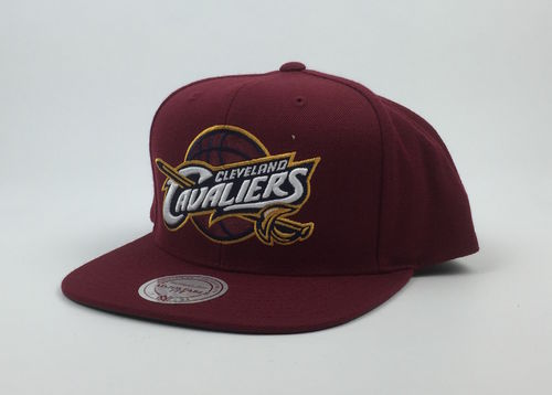 Cleveland Cavaliers NBA Mitchell&Ness Snapback Red