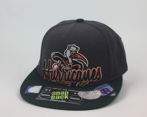 Miami Hurricanes Top Of The World Cosigner Snap Back Youth