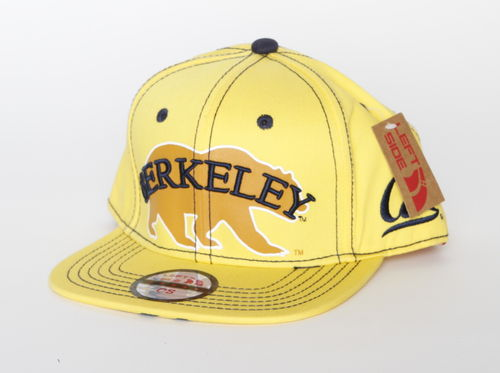 California Berkeley Golden Bears Left Side Snap Back