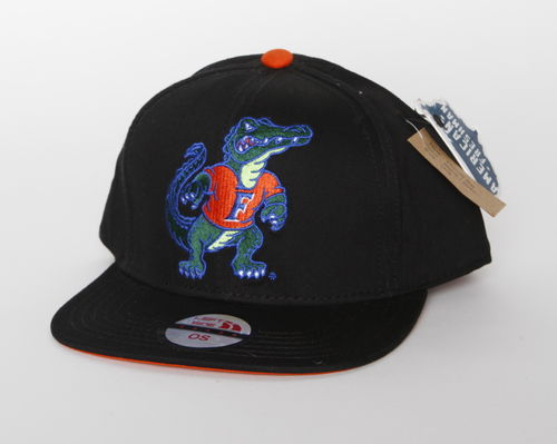 Florida Gators Left Side Black Snap Back