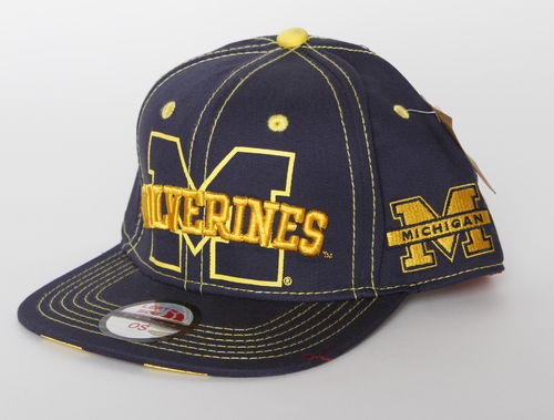 Michigan Wolverines Left Side Snap Back