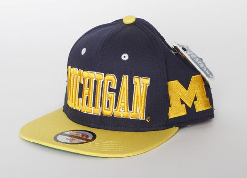 Michigan Wolverines Left Side Alternative Snap Back