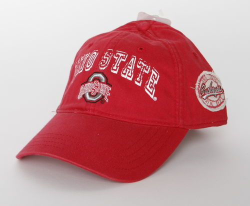 Ohio State Buckeyes Adjustable Cap