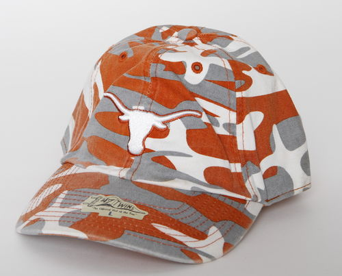Texas Longhorns 47 Twins Camouflage