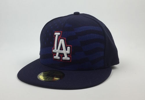 Los Angeles Dodgers July 4th New Era 59Fifty