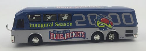 Columbus Blue Jackets Miniatur Bus