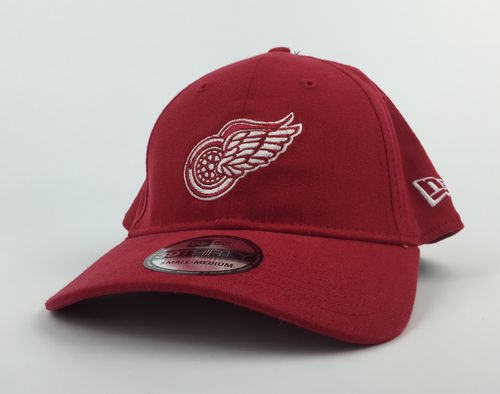 Detroit Red Wings Washed Puck New Era 39Thirty