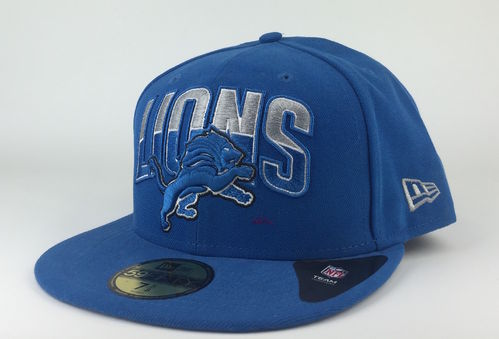 Detroit Lions NFL Draft 2013 New Era 59Fifty