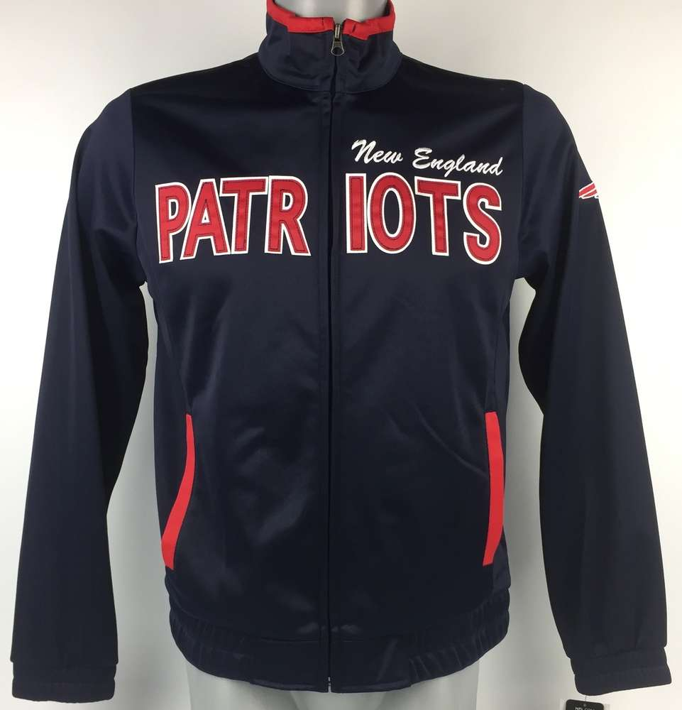 uk cheap sale excellent quality crazy price New England Patriots Damen Retro Sportjacke