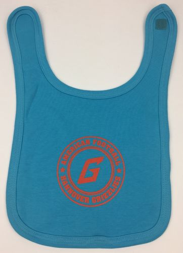 Hannover Grizzlies Baby Lätzchen Light Blue