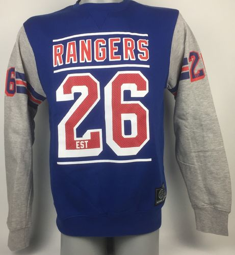 New York Rangers Coach Crewneck