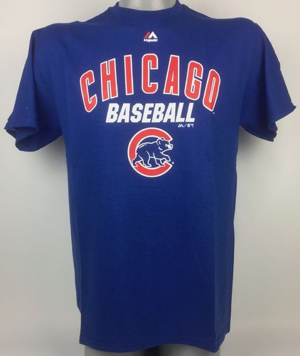 Chicago Cubs Baseball Majestic T-Shirt