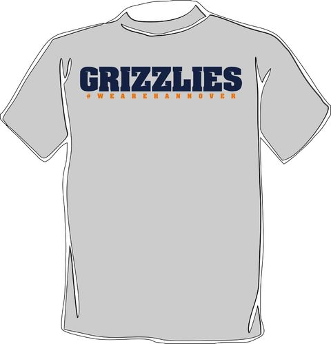 "Hannover Grizzlies ""We Are Hannover"" T-Shirt grey"