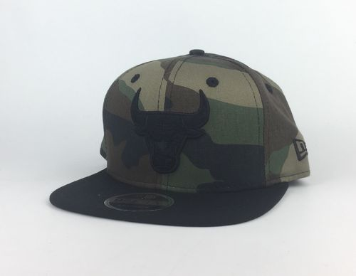Chicago Bulls Camo New Era 9Fifty