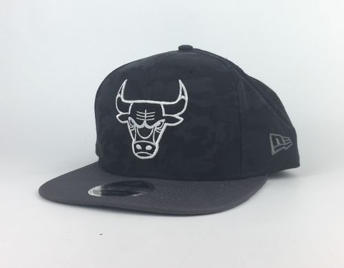 Chicago Bulls Dark Camo New Era 9Fifty