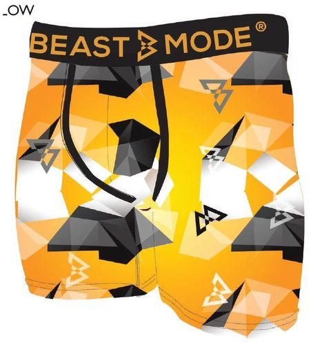 Beast Mode Underwear Explosive Yellow