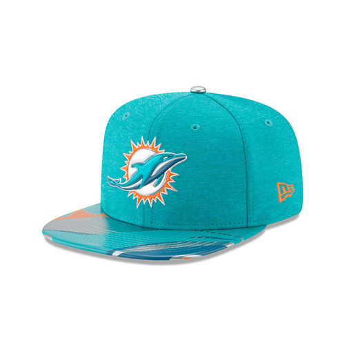 Miami Dolphins Draft NFL On Stage 2017 New Era 9Fifty