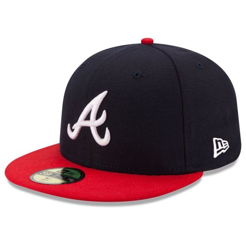 Atlanta Braves Authentic 2017 New Era 59Fifty