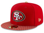 San Francisco 49ers NFL Sideline 2017 New Era 59Fifty