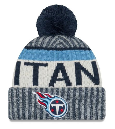 Tennessee Titans  NFL On Field 2017 New Era Knit