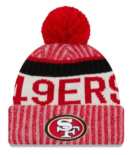 San Francisco 49ers NFL On Field 2017 New Era Knit