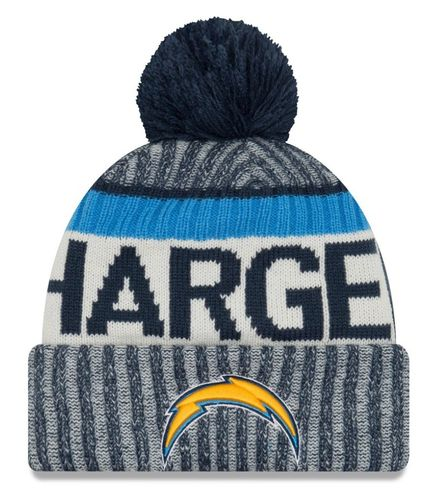 Los Angeles Chargers NFL On Field 2017 New Era Knit