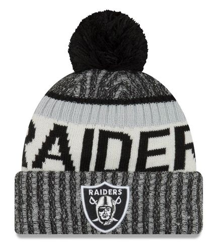 Oakland Raiders NFL On Field 2017 New Era Knit