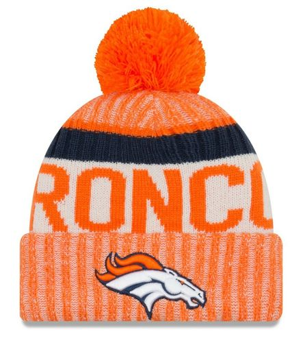 Denver Broncos NFL On Field 2017 New Era Knit